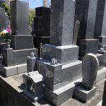 和型8寸石碑 静岡型 静岡市葵区 長善寺さま