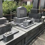 静岡市駿河区高松 慈貞院様 コンパクト石碑建立