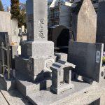 新規建立工事 和型8寸石碑 静岡市葵区 感応寺様